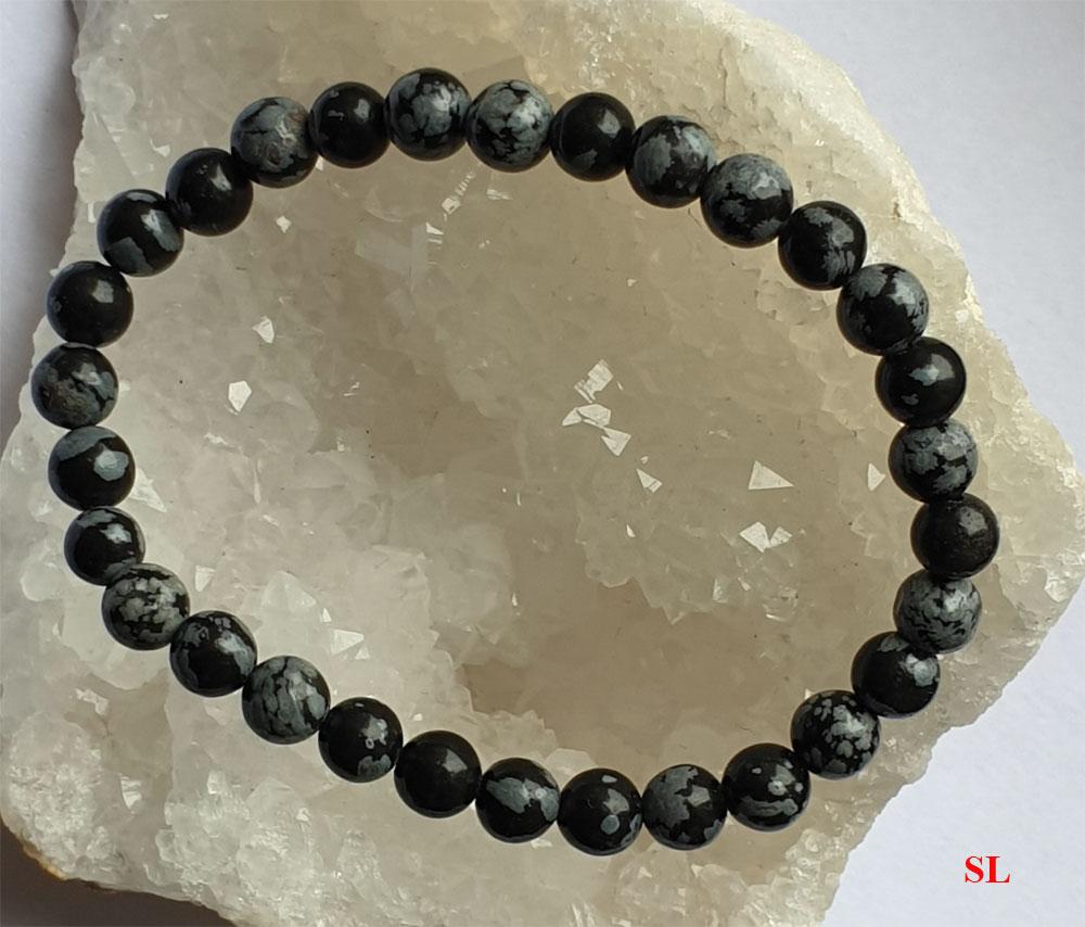 Bracelet-en-pierre-obsidienne-flocon-de-neige-6mm-LITHO-REIKI-gemstone