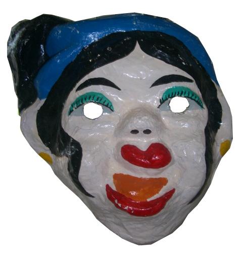 Grand-masque-vietnamien-en-carton-(femme-laide-dun-conte-vietnamien)